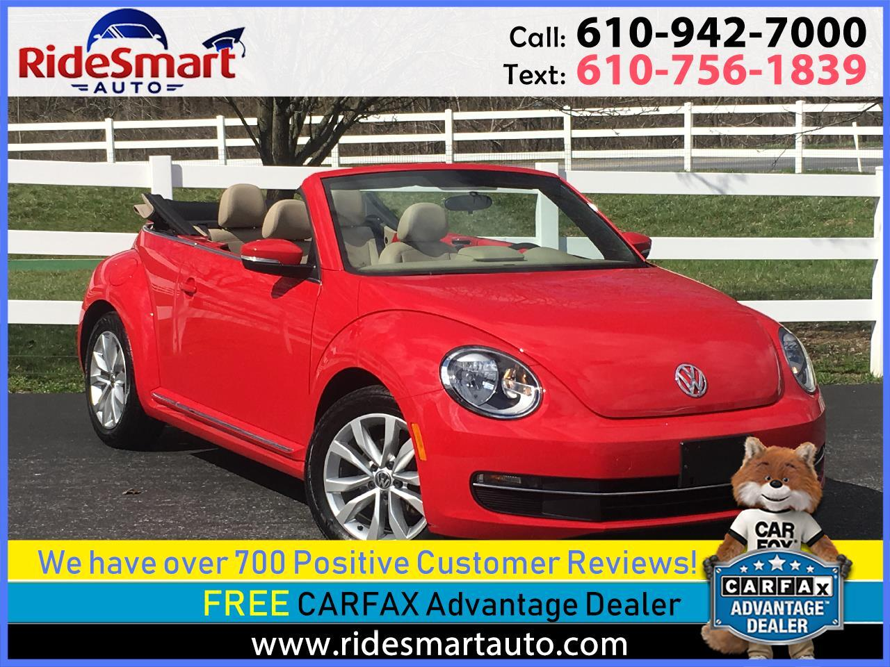 2013 Volkswagen Beetle 2.0t Turbo Diesel Convertible 6 Speed Trans