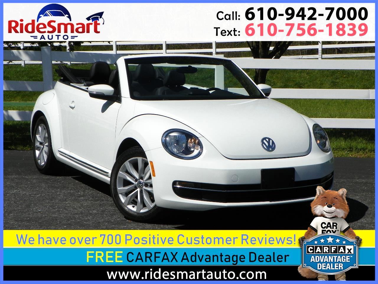 2014 Volkswagen Beetle Convertible TDI Convertible