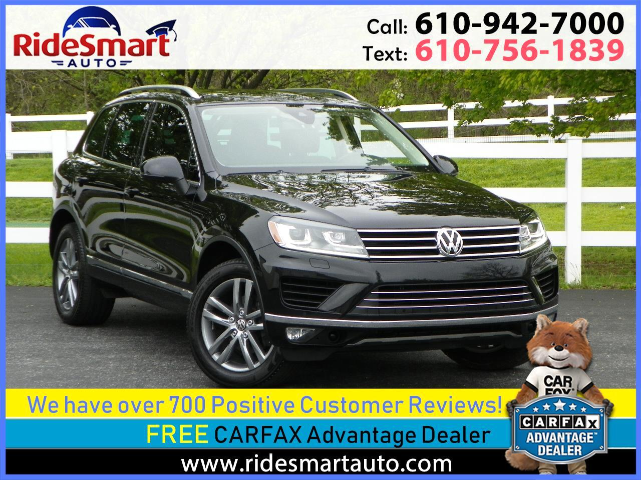 2016 Volkswagen Touareg VR6 Luxury AWD Nav-Panoramic Sunroof