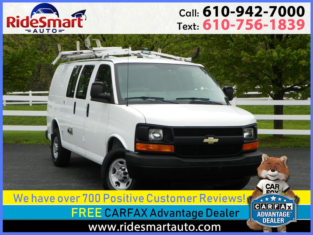 2012 Chevrolet Express 2500 Cargo Extended CNG