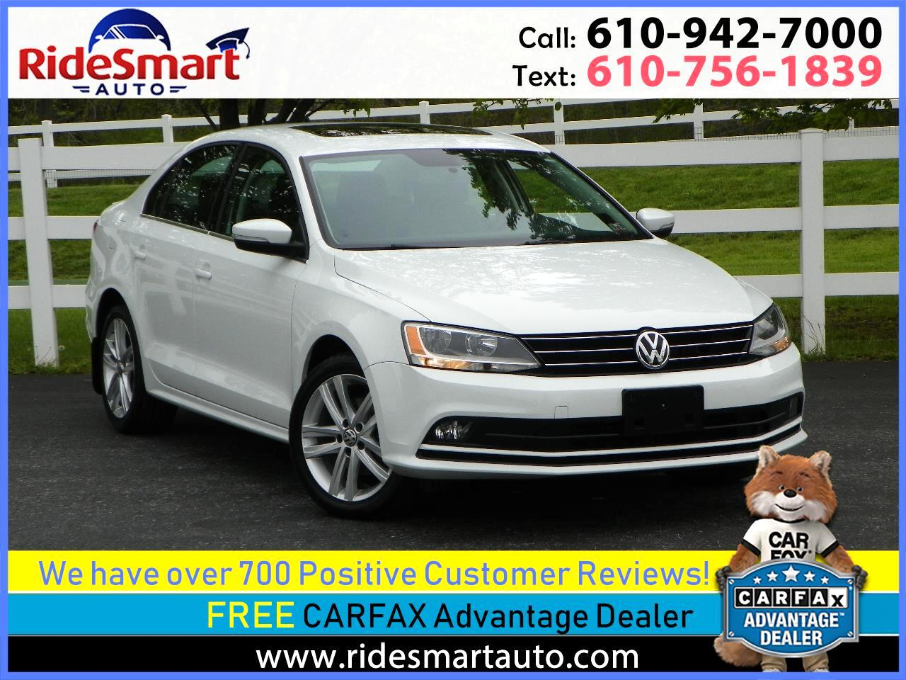 2015 Volkswagen Jetta TDI SEL Nav-Fender Sound-Leather