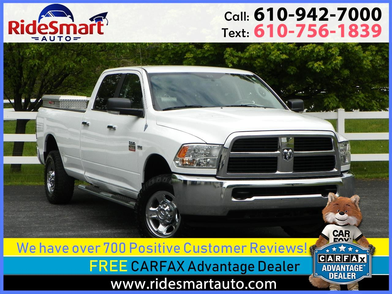 2012 RAM 2500 SLT Crew Cab Long Bed 4WD Gas/GNG 5.7L