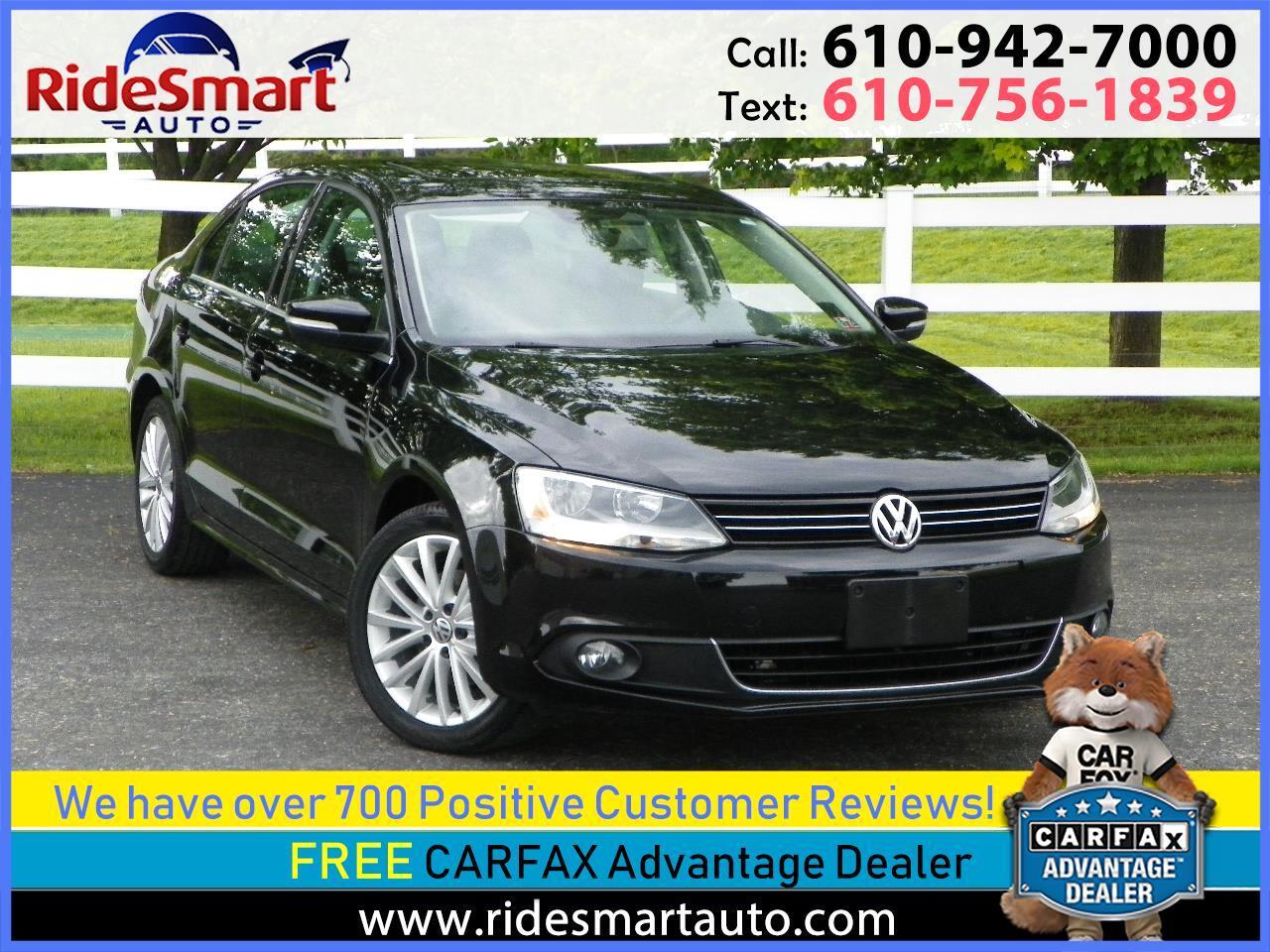 2014 Volkswagen Jetta TDI w/Premium & Navigation