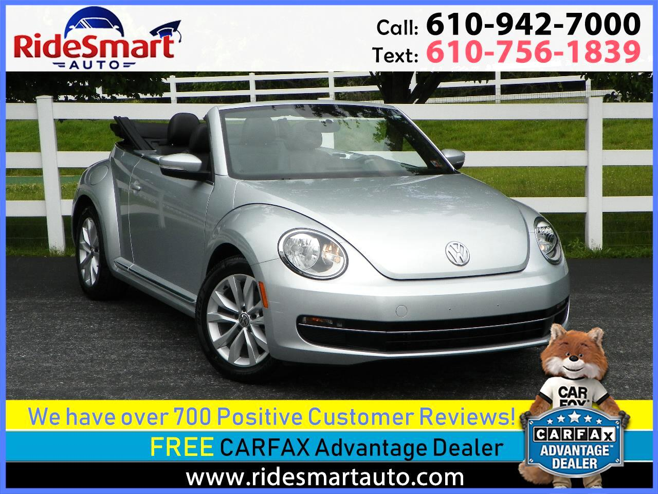 2013 Volkswagen Beetle TDI Convertible w/Sound & Navigation