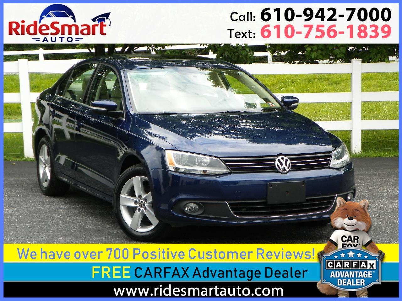 2012 Volkswagen Jetta TDI w/Premium & Navigation