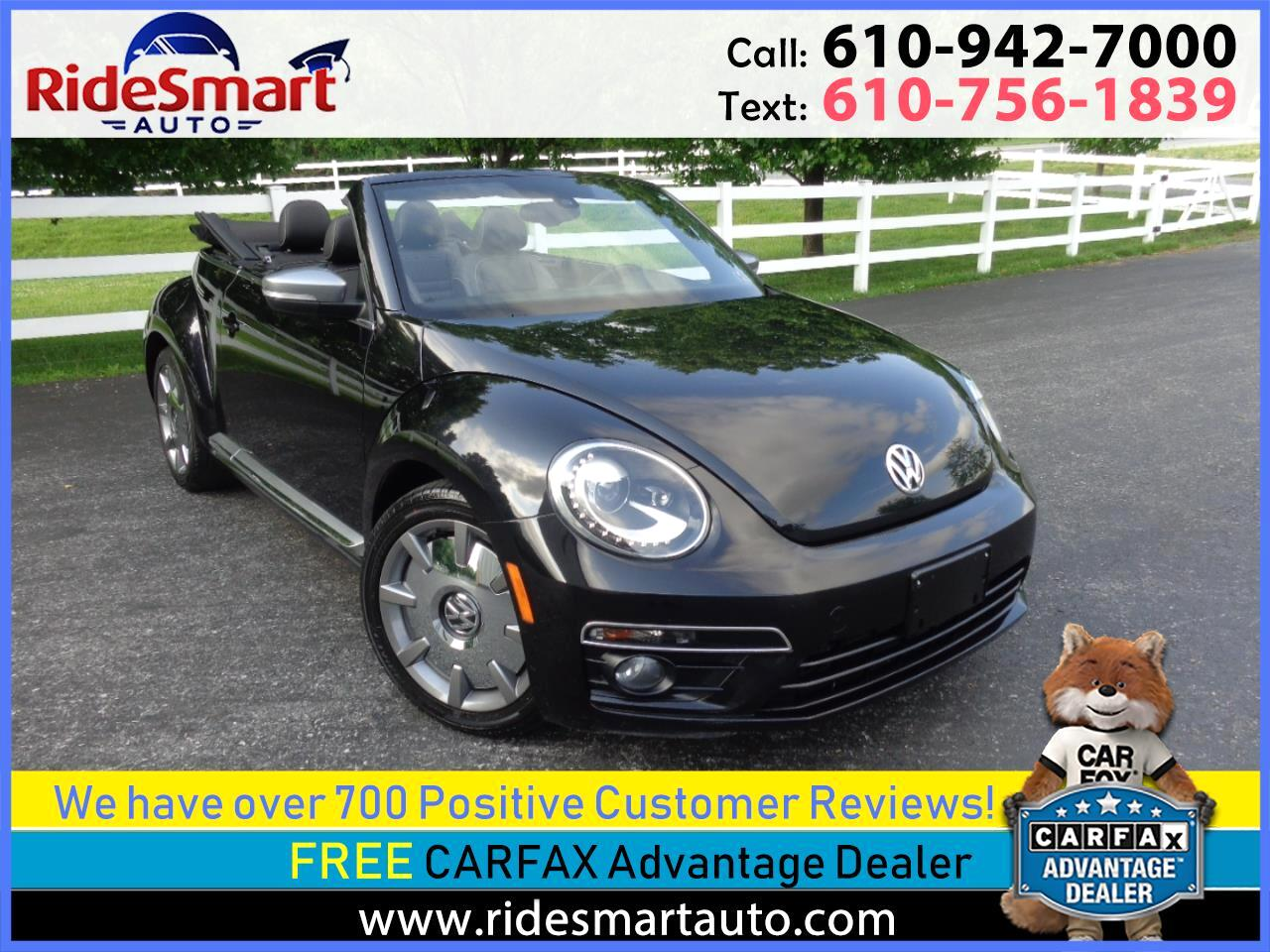 2014 Volkswagen Beetle TDI Convertible w/Premium Sound/Nav/R Sport Pkg.