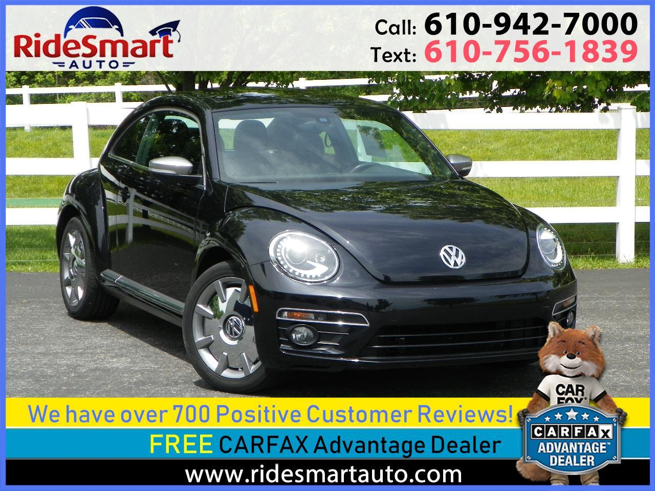 2014 Volkswagen Beetle TDI w/Sunroof Sound Navigation & R Sport Pkg.