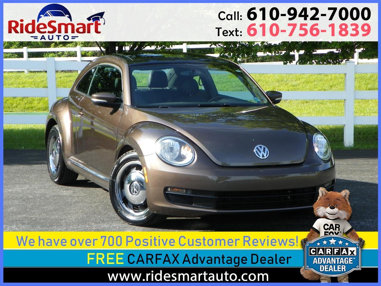 2012 Volkswagen Beetle 2.5L w/Sunroof