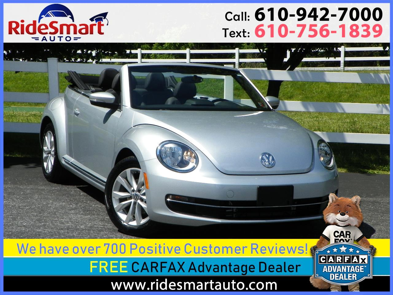 2015 Volkswagen Beetle TDI Convertible