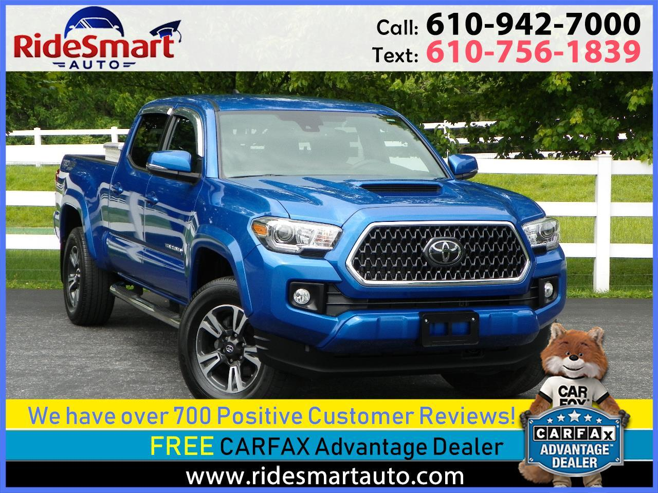 2018 Toyota Tacoma SR5 DOUBLE Cab 4WD TRD Sport Pkg w/Navigation