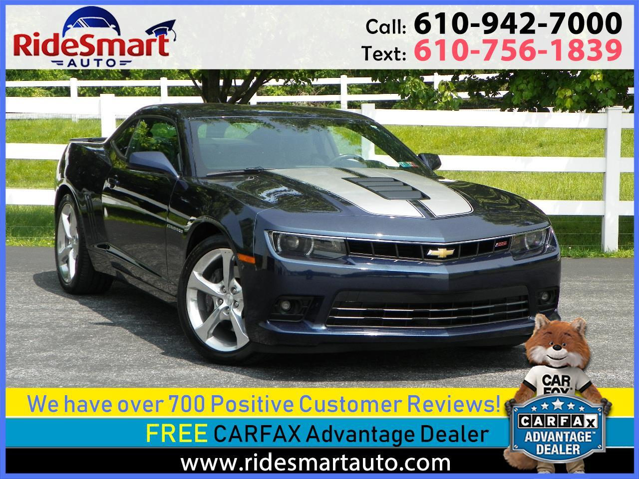 2015 Chevrolet Camaro 2SS Coupe w/RS & Performance Pkg