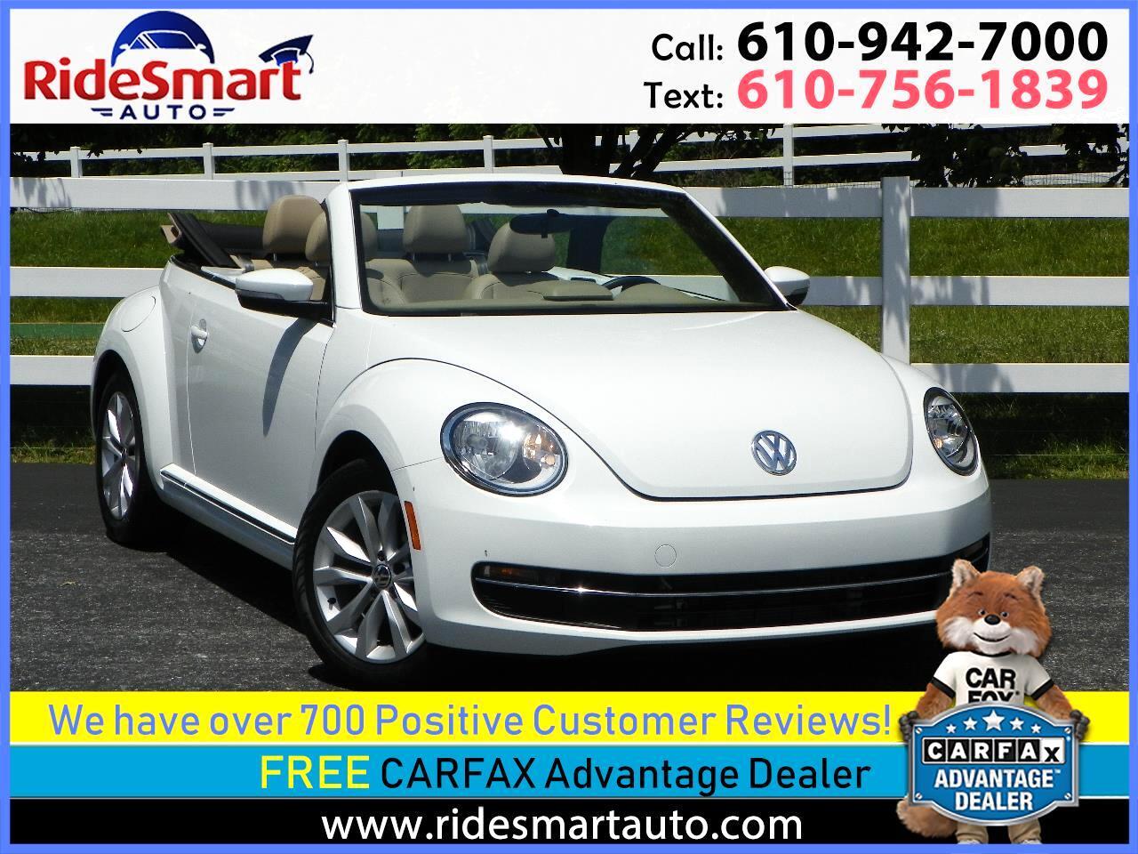 2015 Volkswagen Beetle TDI Convertible 6A