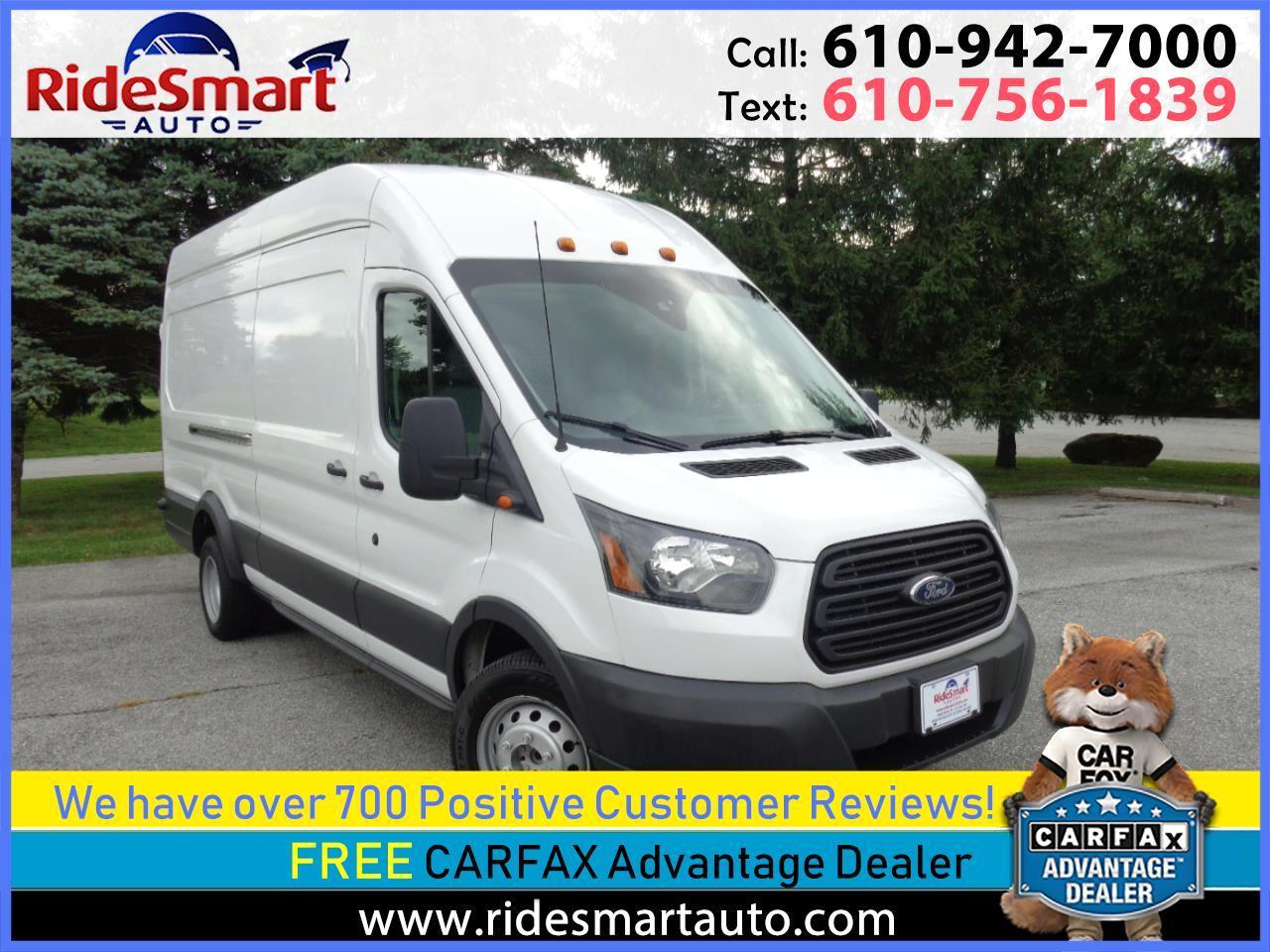 2015 Ford Transit 350 Van HD High Roof 10360lb GVWR Pass. Slide EL