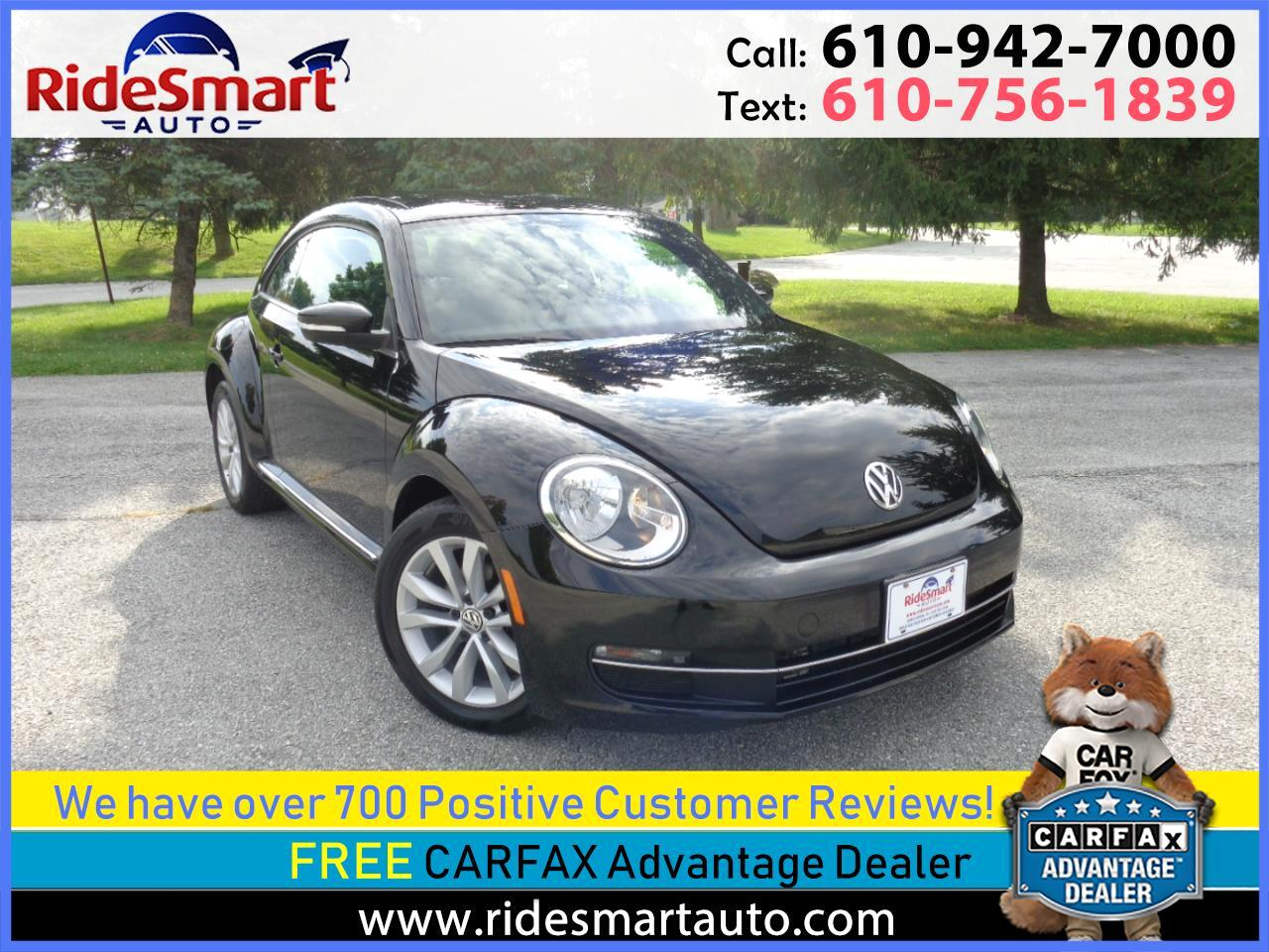 2015 Volkswagen Beetle TDi Panoramic Sunroof-Nav-Rear Camera