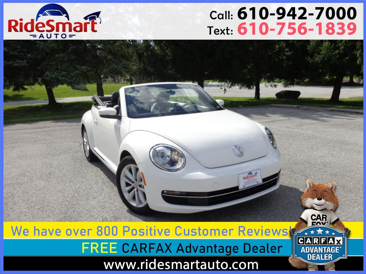Volkswagen Beetle 2.0T Turbo Convertible 2013