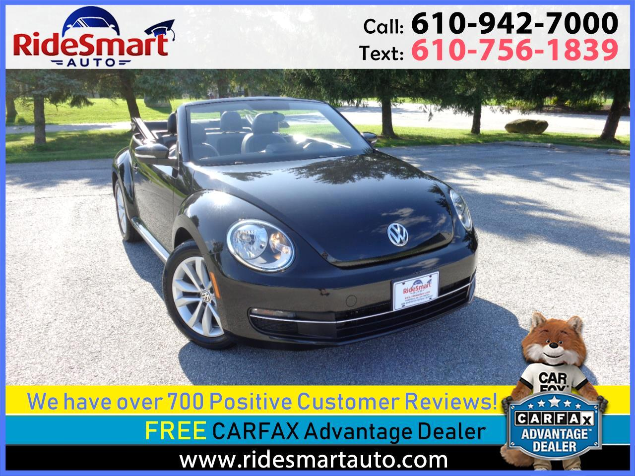 2013 Volkswagen Beetle TDI Convertible w/Sound and Navigation