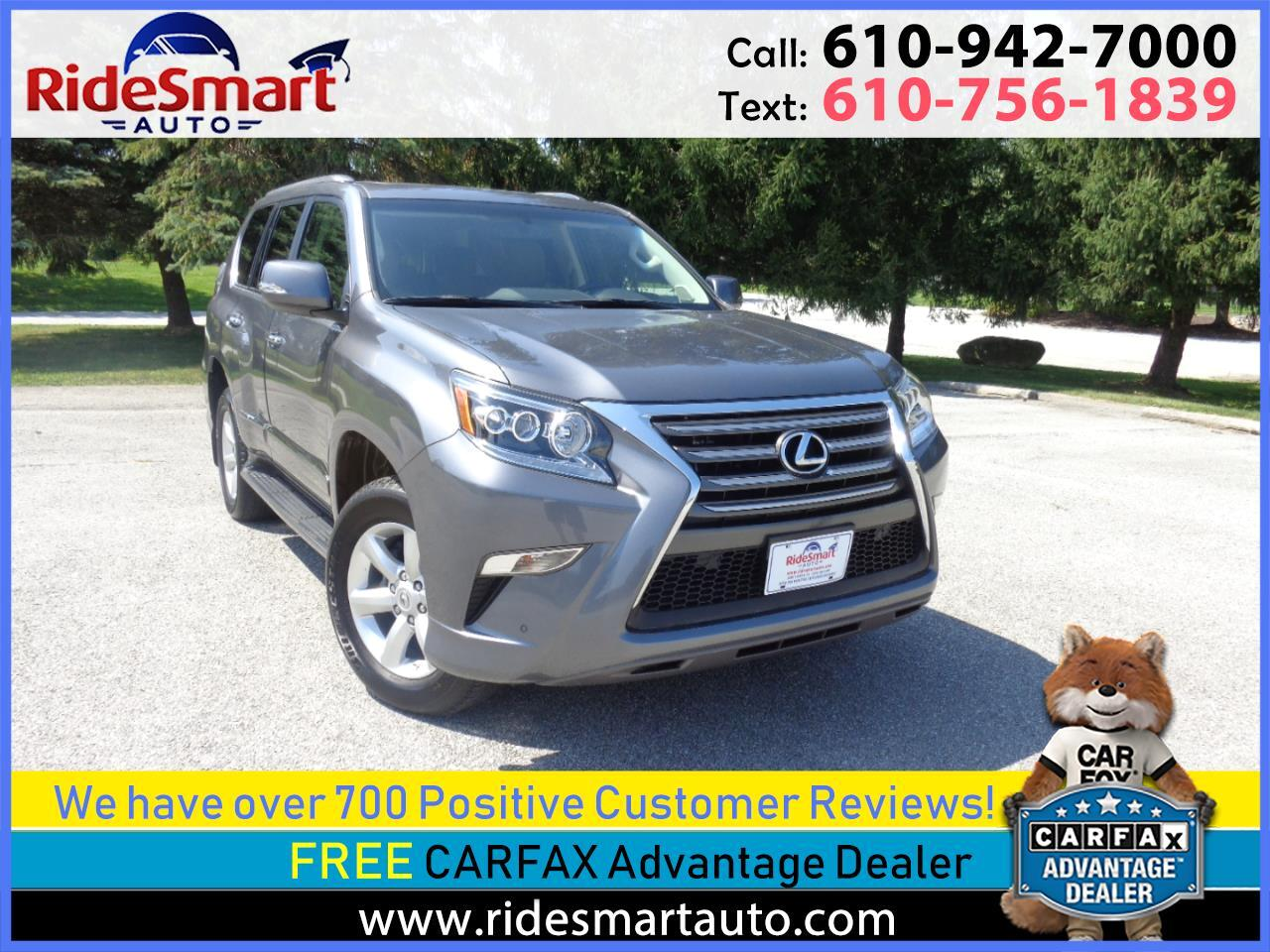 2017 Lexus GX 460 Navigation-Sunroof-3rd Row Seat