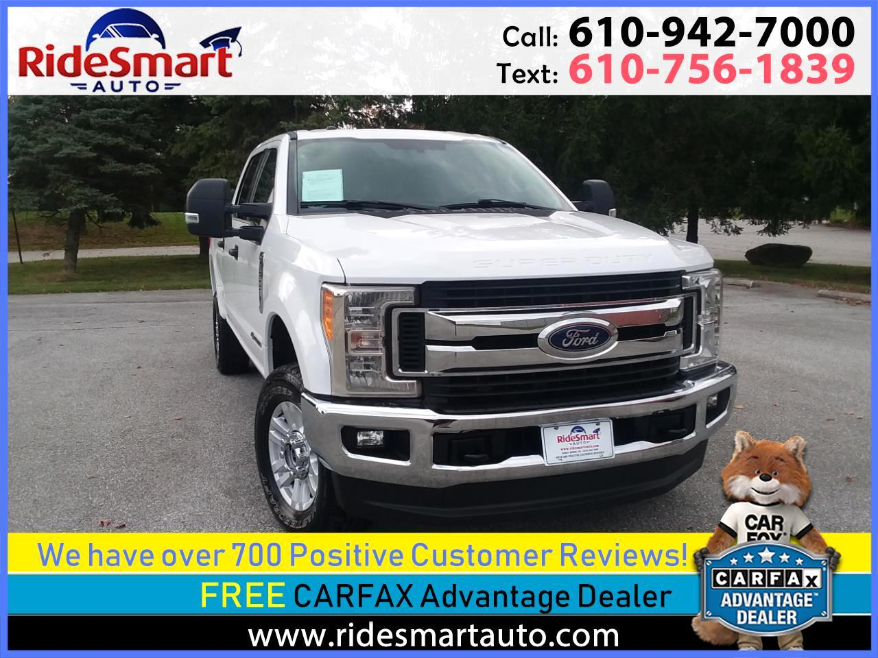 2017 Ford F-250 SD XLT Crew Cab Long Bed 4WD Diesel