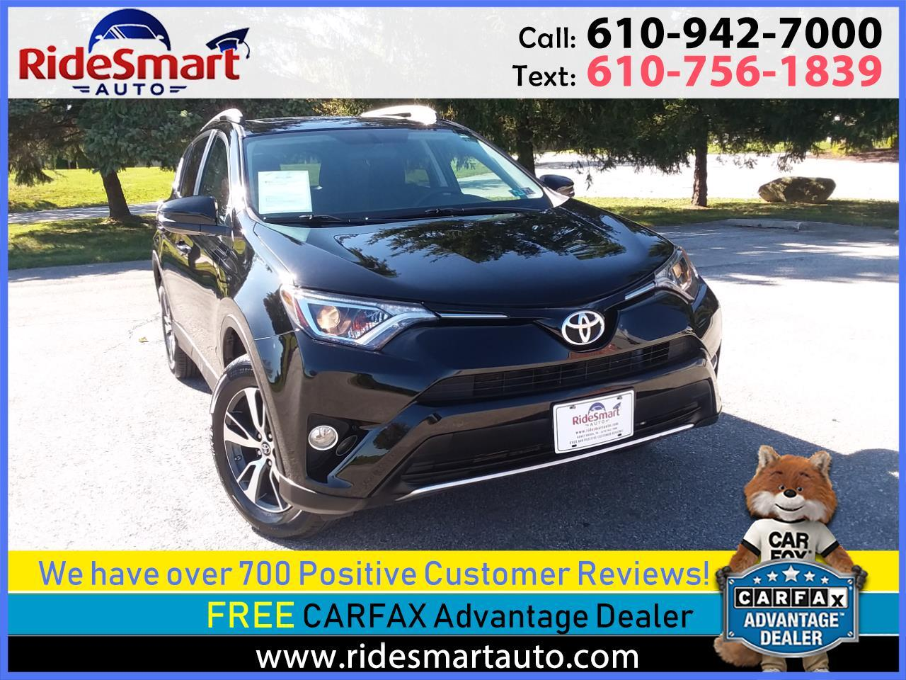 2016 Toyota RAV4 XLE AWD Sunroof-Navigation-Backup Camera