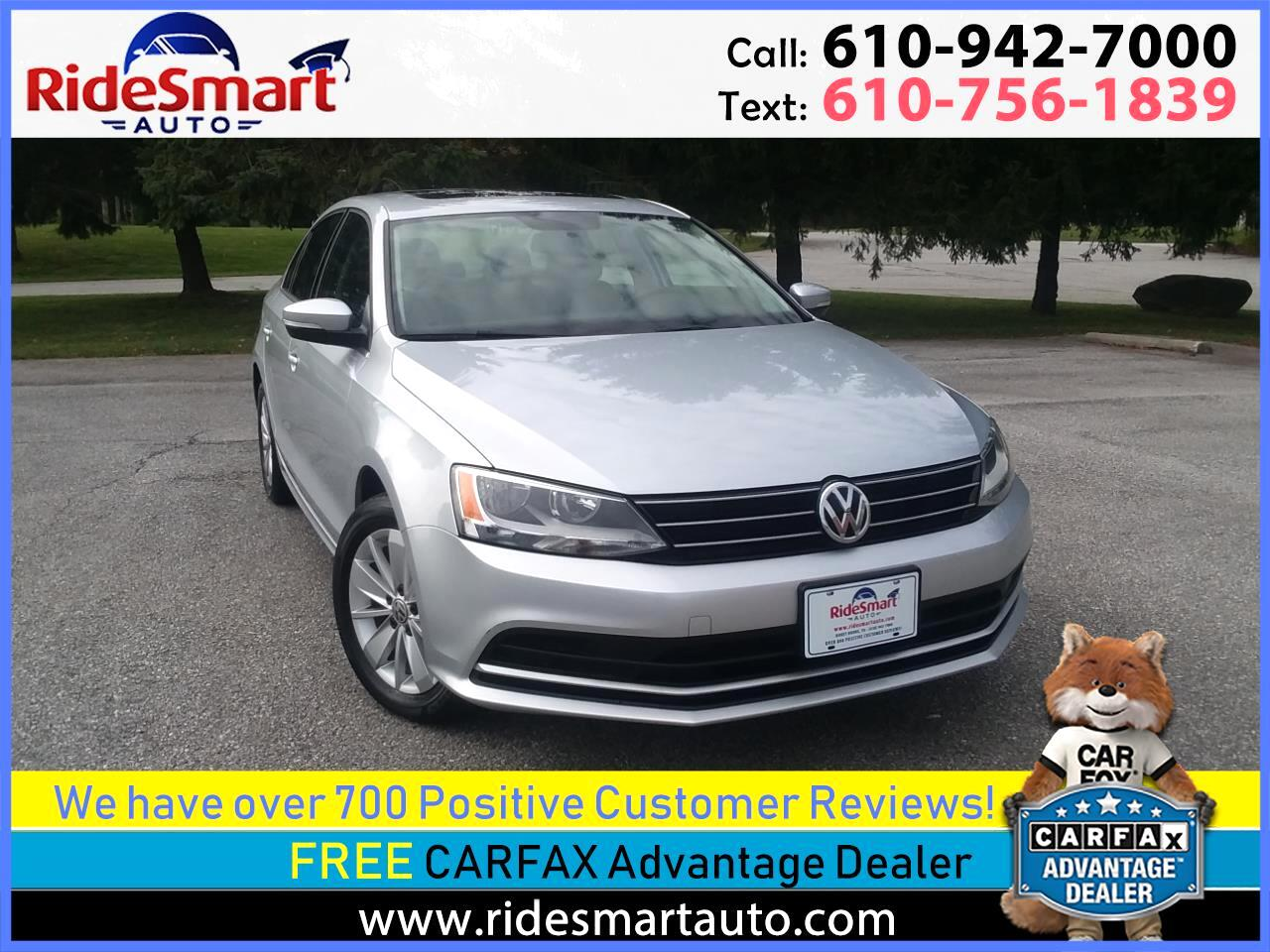 2015 Volkswagen Jetta TDI SE 6 Speed Manual