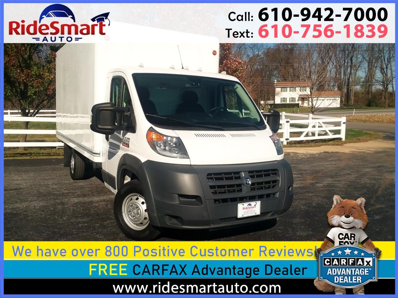 RAM Promaster 3500 High Roof Tradesman 159-in. WB Ext 2016