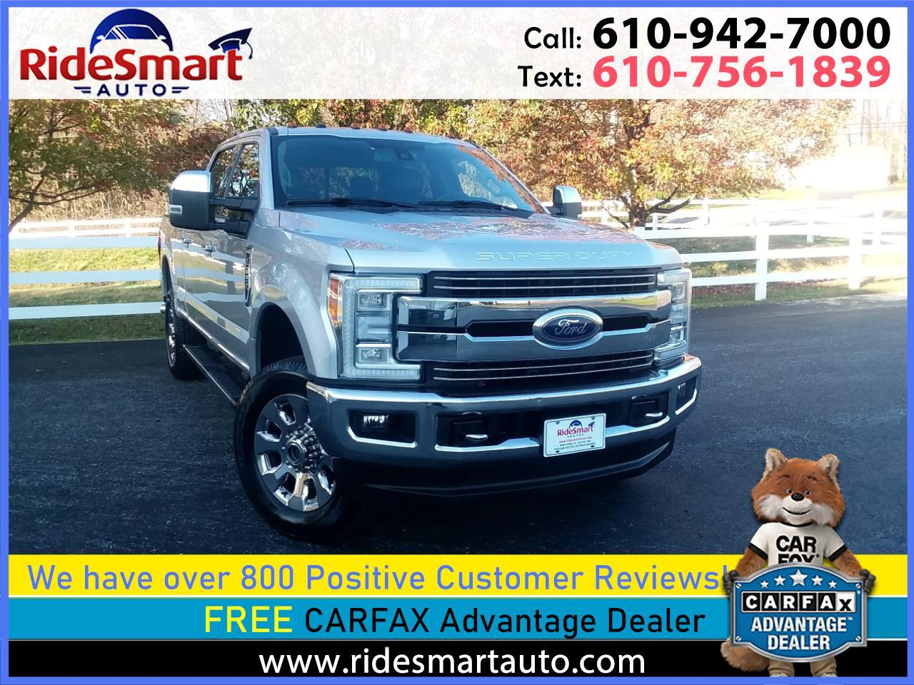 Ford F-250 SD Lariat Crew Cab Long Bed 4WD 2017