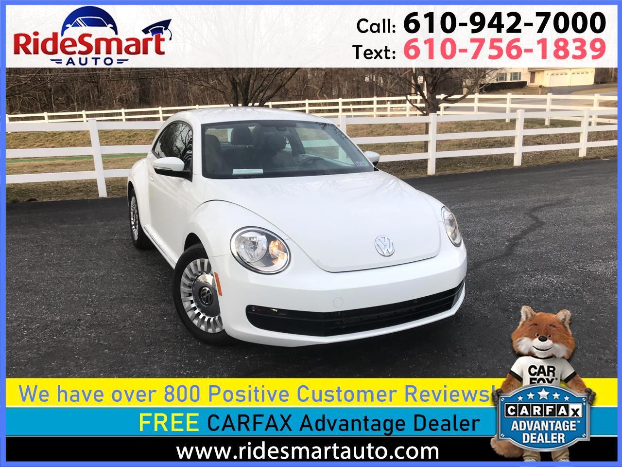 Volkswagen Beetle 1.8T SE 2016