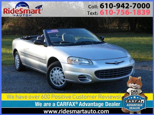 2001 Chrysler Sebring LX Convertible
