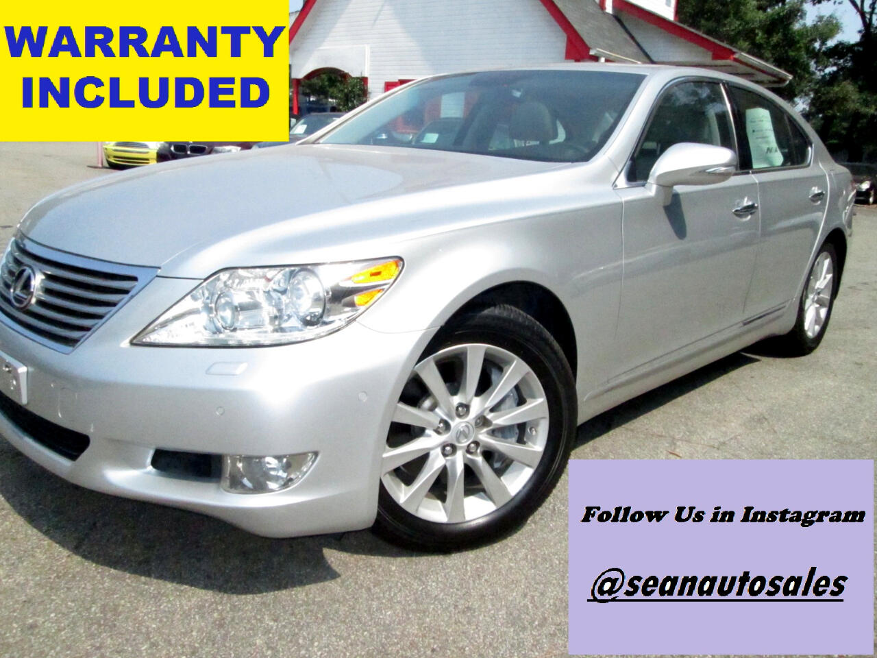 Lexus LS 460 Luxury Sedan AWD 2010