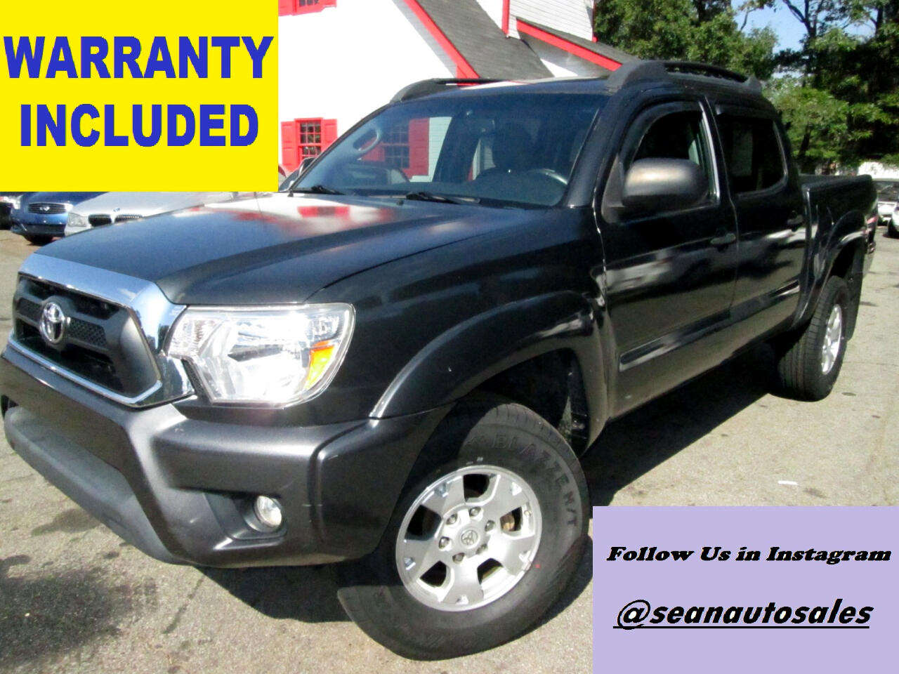 2013 Toyota Tacoma Double Cab V6 4WD with TRD Off Road Package