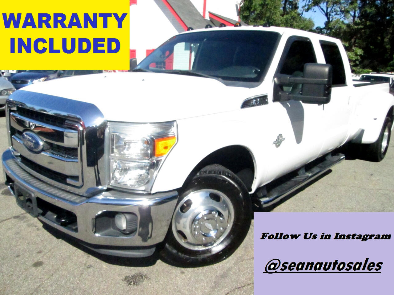 Ford F-350 SD Lariat Crew Cab Long Bed DRW 2WD 2011