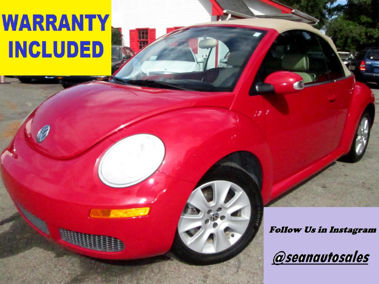 Volkswagen New Beetle S Convertible 2008