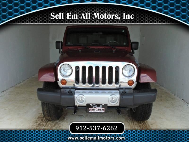 2010 Jeep Wrangler Unlimited Unlimited Sahara