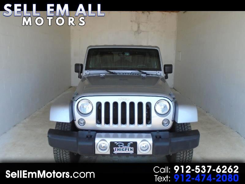 2014 Jeep Wrangler Unlimited Unlimited Sahara