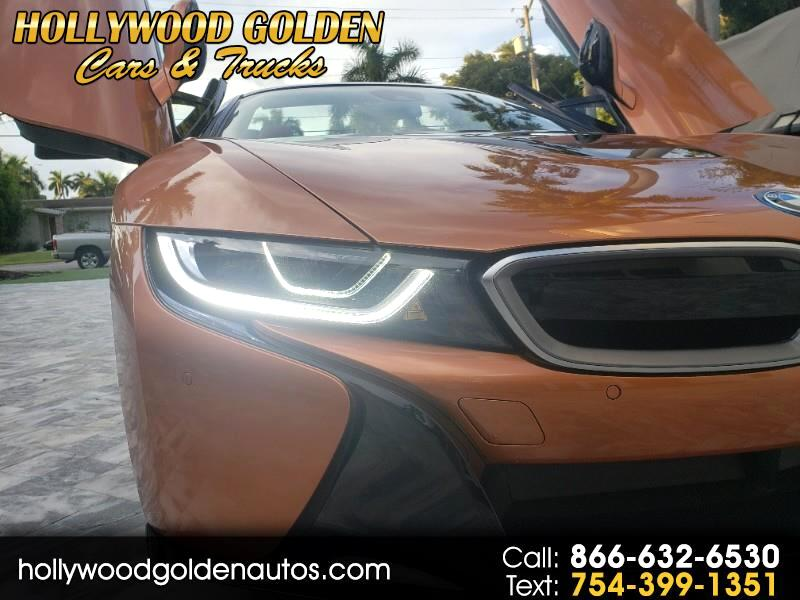 BMW i8 Convertible 2019
