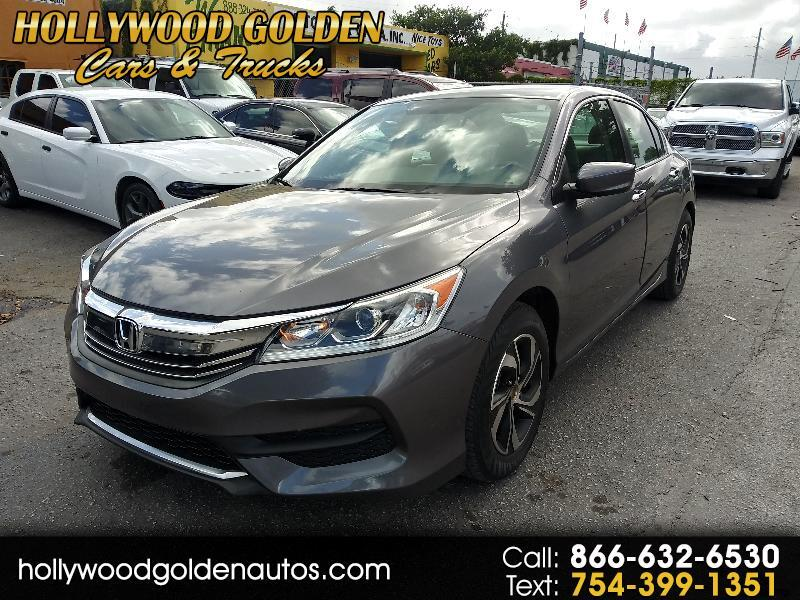 2017 Honda Accord 4dr Sedan LX Auto