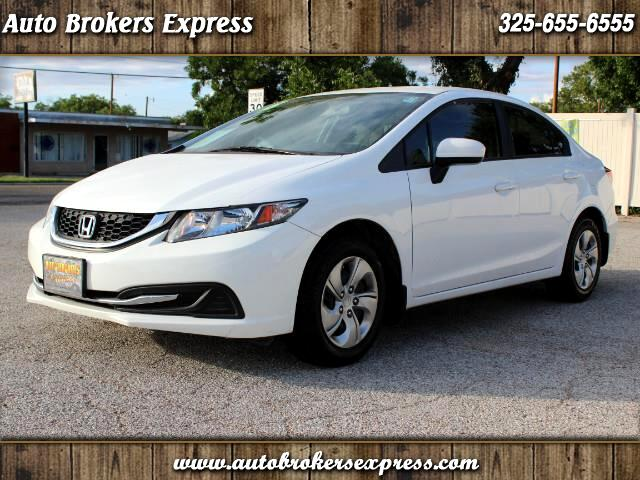 2015 Honda Civic LX Sedan AT