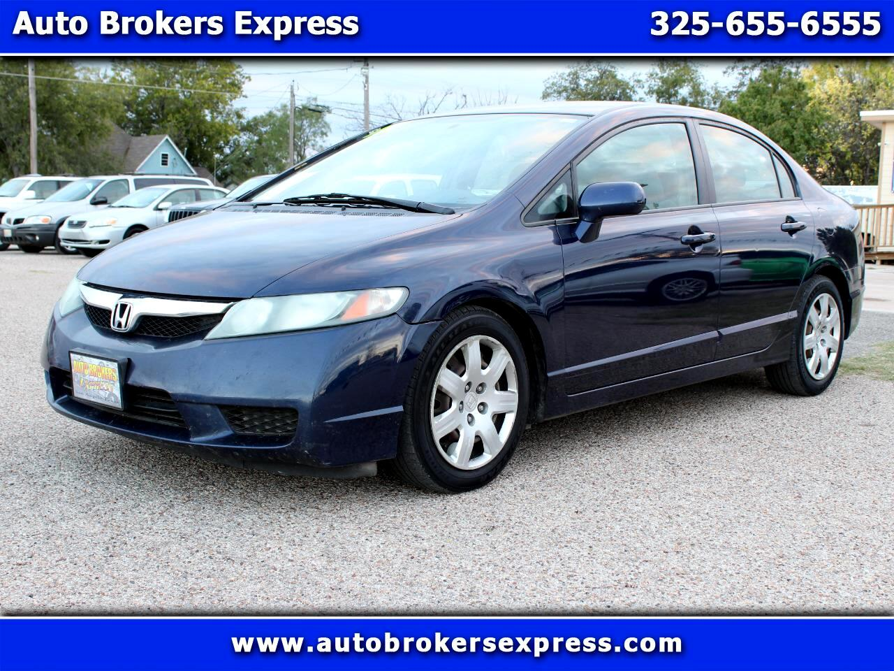 2010 Honda Civic 4dr Sdn LX Auto