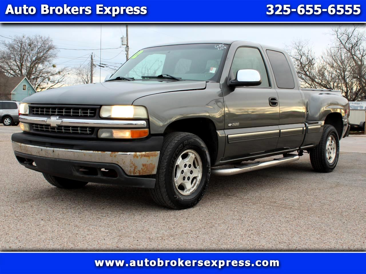 Chevrolet Silverado 1500 LT Ext. Cab Short Bed 4WD 2002