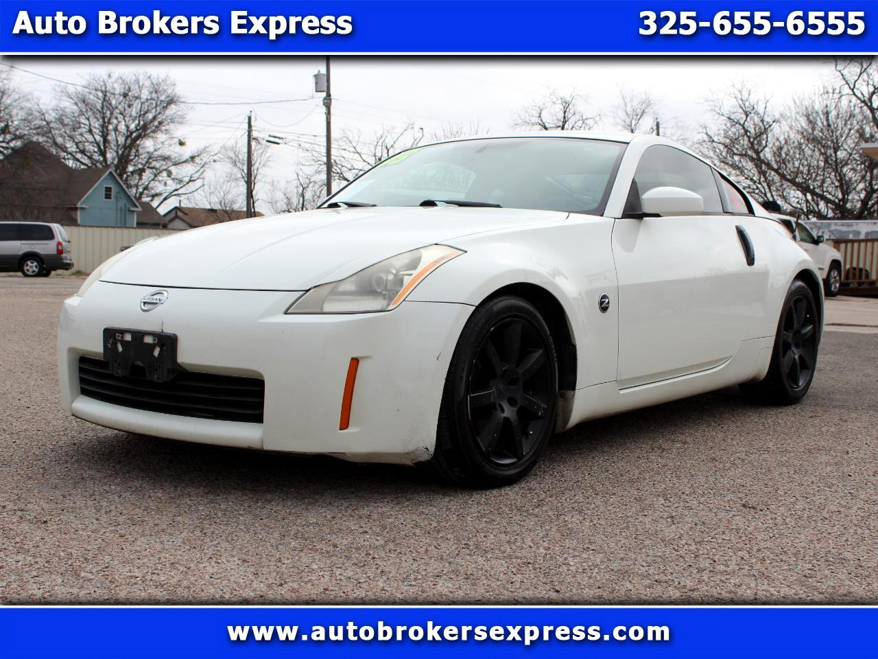 2003 Nissan 350Z 2dr Cpe Auto Touring