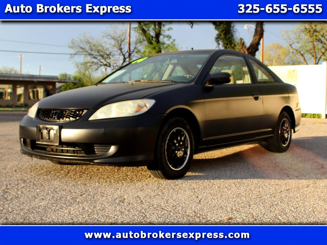 2004 Honda Civic VP coupe AT