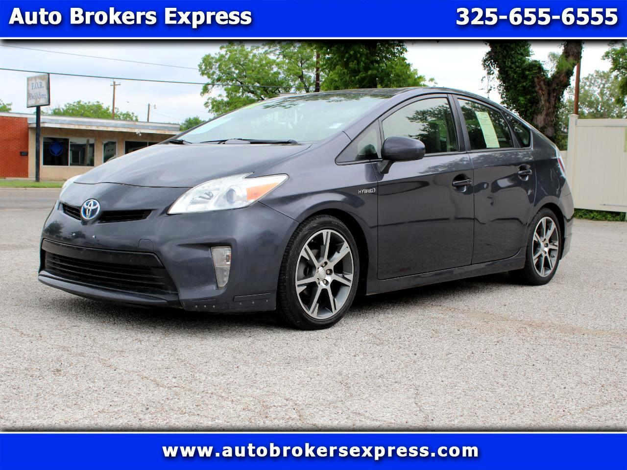 2012 Toyota Prius Limited