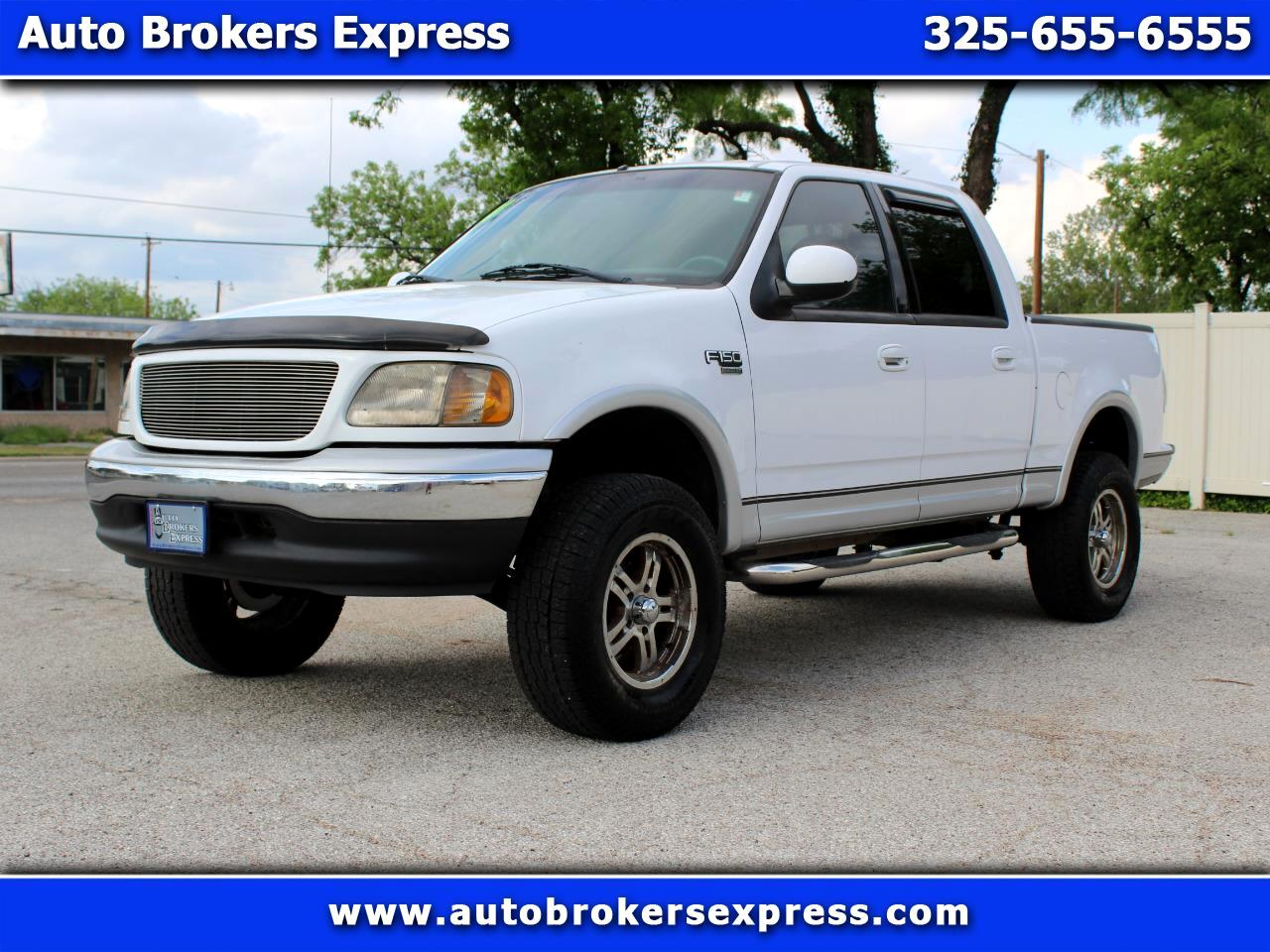 2001 Ford F-150 XLT SuperCrew 2WD