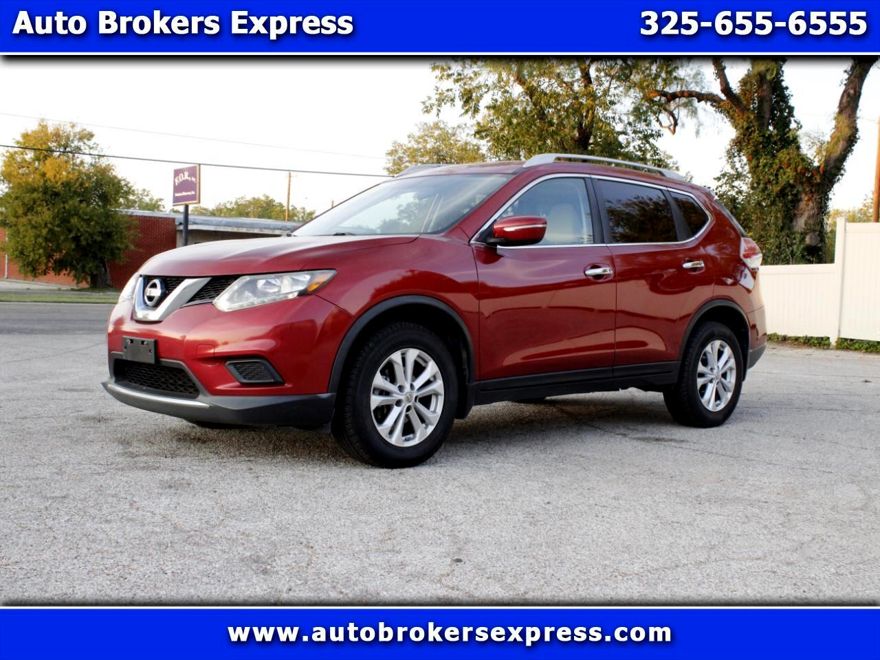 Nissan Rogue S AWD 2014
