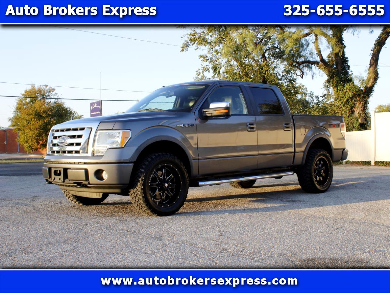 "Ford F-150 4WD SuperCrew 157"" FX4 2010"