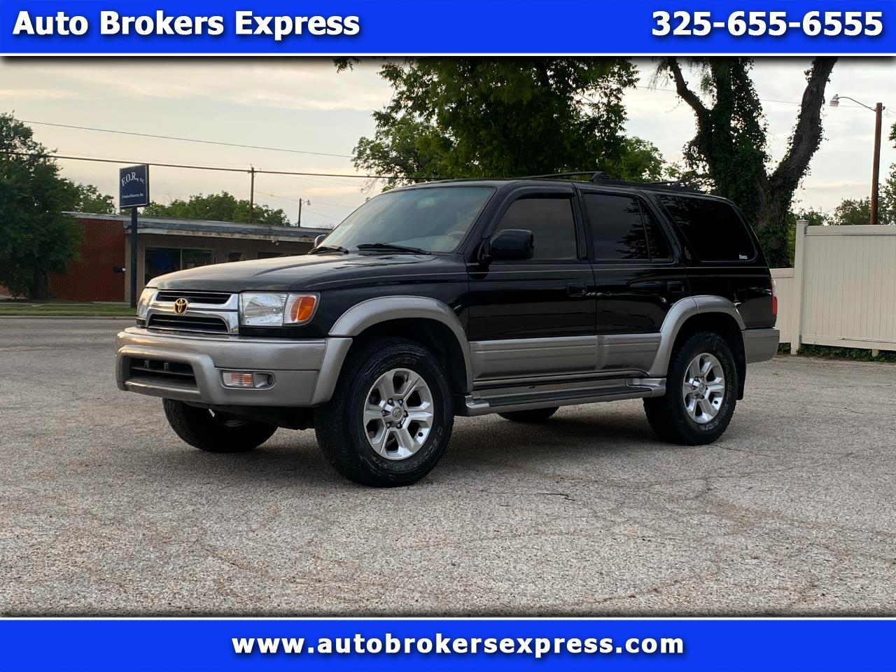 Toyota 4Runner Limited 2WD 2001