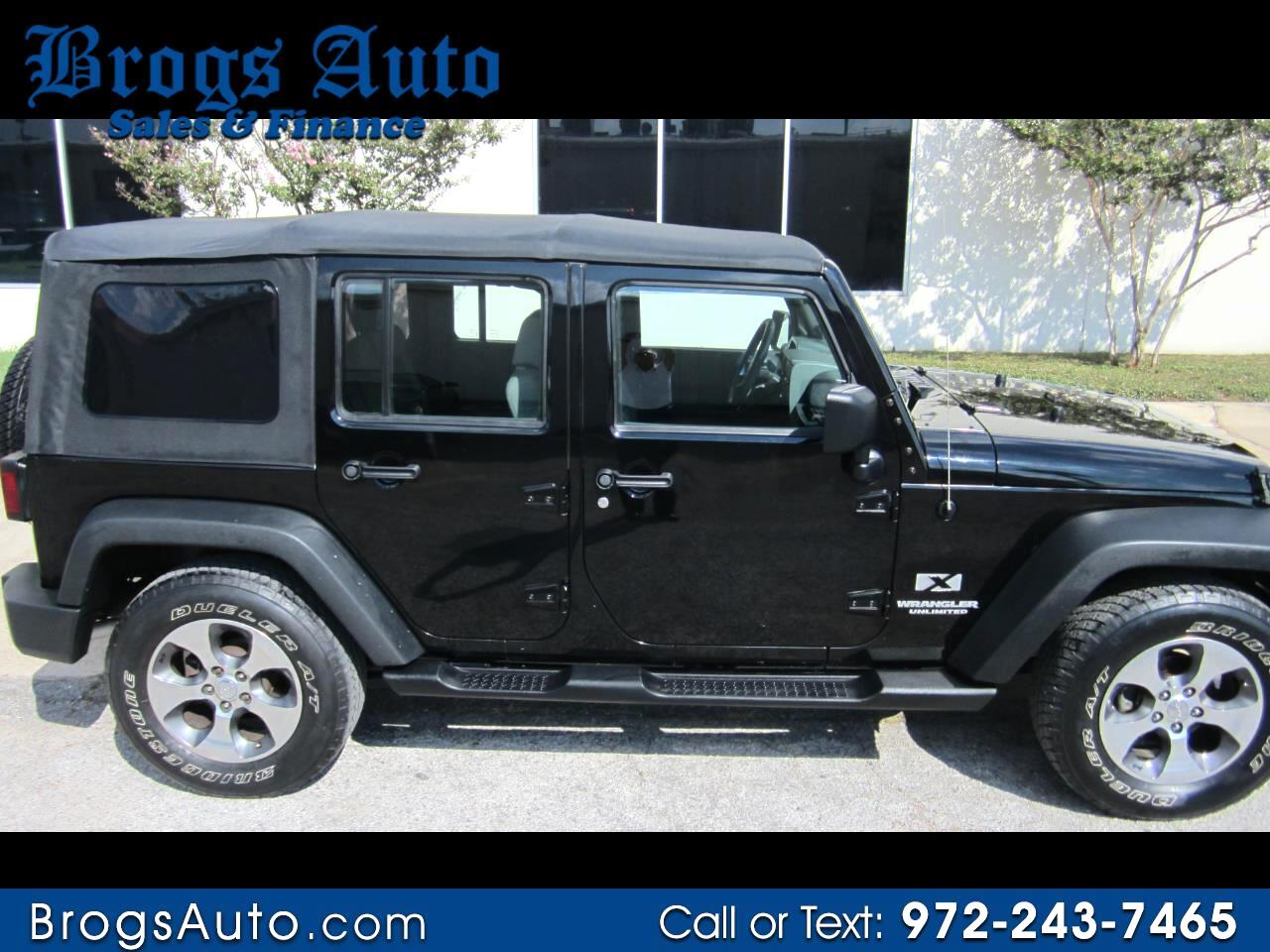 Jeep Wrangler Unlimited RWD 4dr X 2009