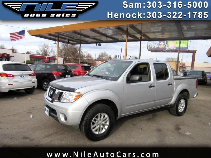 2017 Nissan Frontier PRO-4X Crew Cab 5AT 4WD
