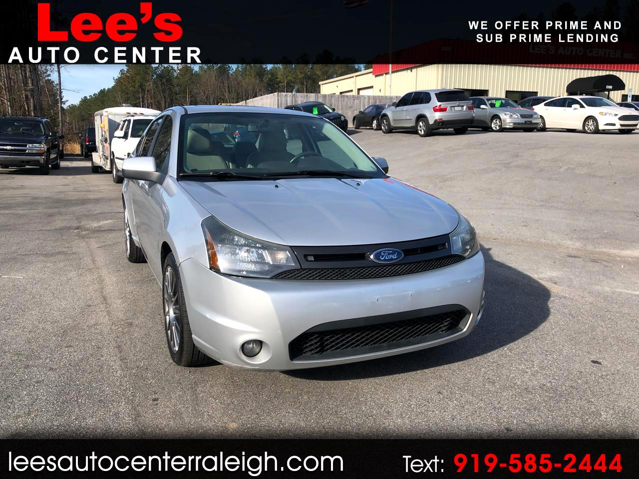 2010 Ford Focus 4dr Sdn SES
