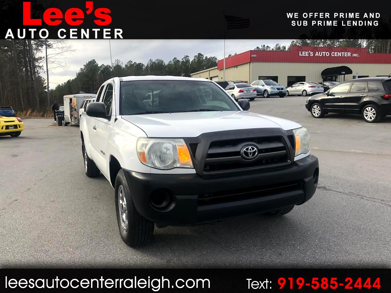 2010 Toyota Tacoma 2WD Access I4 MT (Natl)
